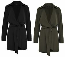 Women's Coat Jacket NEW WITHNESS TRENCH COAT black green 15107848 Transitional