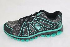 K-Swiss Women's Tubes 130 Size 9 Black/Floral/Electric Green NIB
