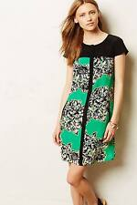 NEW Anthropologie Maeve Ayame Silk Dress Size 4