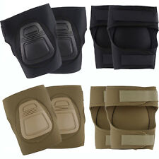 Military Airsoft Tactical Paintball Game Combat Protective Set Gear Knee Pads