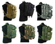 7 Color Airsoft Molle Tactical MOD Hydration Assault Backpack Bag BK/ACU/OD/TAN