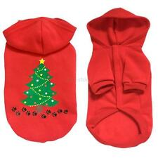 Red Pet Dog Clothes Puppy Shirt Cotton Sweater Costume Jacket Coat Apparel