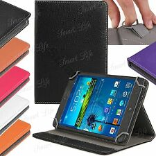 "Universal Leather Folding Stand Case Cover For 10"" 10.1"" Inch Android PC Tablet"