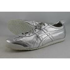 Onitsuka Tiger by As Mexico 66 Slip-On Women US 11.5 Silver Pre Owned 2193