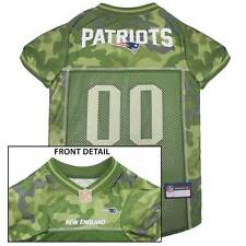 NEW ENGLAND PATRIOTS Dog Jersey * CAMO * XS-XL NFL Football Camouflage Puppy Pet