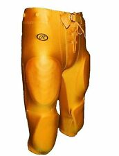 New Rawlings Youth Slotted Lycra Football Pants F2540 Oakland Gold Yellow