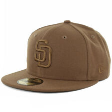 New Era 59Fifty San Diego Padres Tonal Fitted Hat (Toasted Peanut) Cap