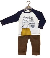 Baby Boys Top & Cord Trouser Outfit - Camping Fun (6-24 Months)