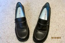 Tommy Hilfiger Women's Size 10M Dark Brown Casual Leather Shoes with Heel