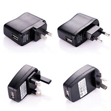 AC/DC Power Supply Adapter USB US AU EU UK Plug Wall Charger For Phone MP3 MP4