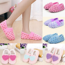 New Women's Soft Warm Indoor Slippers Cotton Sandals Houses Home Anti-slip Shoes