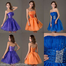 Cute Short Prom Dress Cocktail Ball Evening Party Dresses Homecoming Gowns 2016