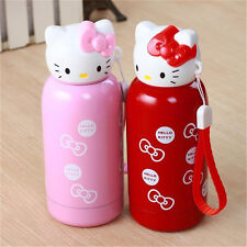 Hello kitty portable thermos stainless steel insulated vacuum cup water bottle