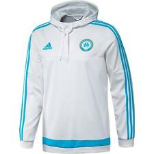adidas Men's Olympique de Marseille Hooded Top White A99122