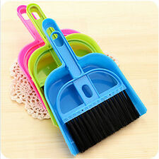 Top Sale Keyboard Brush with Dustpan Fingerboard Broom Brush Set Cleaning Tools