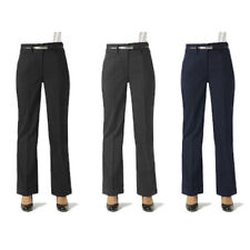 WOMEN BUSINESS CASUAL LADIES CLASSIC BOOTLEG PANTS CORPORATE WORKWEAR FB BS127LL