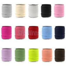 50 Yard Multifunction Elastic Fabric Ribbon Cord Sewing Trim Band Webbing Crafts