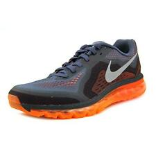 Nike Air Max 2014 Men  Round Toe Synthetic Gray Running Shoe