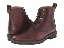 Billy Reid Men's Kieran Lace Boot Brown Leather Made in Italy $495 msrp NIB
