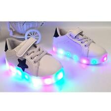 Boy's Girl's Sneakers Toddler Shoes Kids Lighting LED Flash Sports Shoes