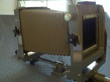 CALUMET 4X5 MONORAIL VIEW CAMERA and case.