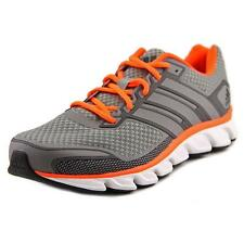 Adidas Falcon Elite 4 Men  Round Toe Synthetic Gray Running Shoe NWOB