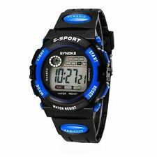 Digital Kids Child Boy girl Watch Waterproof Band Led Sport Quartz Wrist Watch
