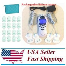 TENS Unit Tens Massager Digital Therapy Acupuncture Machine Dual Outputs XV