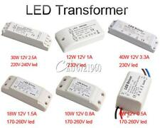 6W 10W 12W 18W 30W 40W LED Power Supply LED Driver Transformer DC 12V Light Bulb