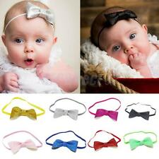 Hot Bowknot Headband Baby Girls Elastic Hair Band Headwrap Cute Twinkle Headwear