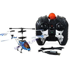 new sales blue/yellow Mini Sky 3.5CH Metal Frame Gyro Remote Control Helicopter