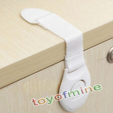 Adhesive Child Kids Baby Cute Safety Lock For Door Drawers Cupboard Cabinet