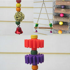 Bars Elevated Toys Chew Teeth  Supplies Swing Parrot Birds Minerals Ladder