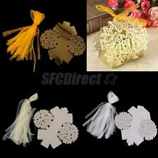 50 Wholesale Butterfly Wedding Candy Bags Wedding Favor Candy Boxes With Ribbons