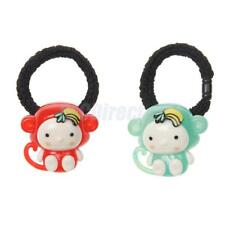 Fashion Women Cartoon Monkey Hair Band Rope Headband Elastic Ponytail Holder