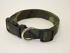 Camo Camouflage Adjustable Dog Collars & Martingales & Leashes & Cat Collars