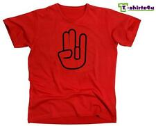 The SHOCKER Hand Funny Sex Rude Sexy Offensive College Party T-Shirt NEW Red