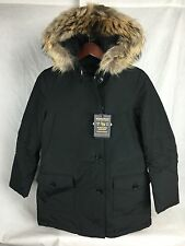 NEW WOOLRICH ARCTIC PARKA DF WOMENS BLACK JOHN RICH BROS DOWN JACKET FAST SHIP