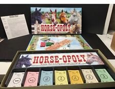 Horse-Opoly Horseopoly Property Trading Board Game Complete Horse