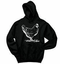 Chicken Crewneck Sweatshirt Rooster Farmer Chicks Cock Rude Humor Hoodie