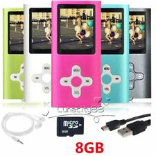 8GB MP3 MP4 Players Portable Media Videos Music Player Voice Recording Player