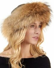 The Tatiana Finn Raccoon Cuff Hat -Brand: frr