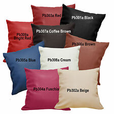 Pb+20 Soft Faux Leather Skin Pattern Cushion Cover / Pillow Case Custom Size