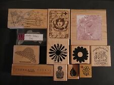 Misc.Wood-Mount Rubber Stamp - Your Choice! Stampin' Up!, Hampton Art, JRL