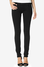 HUDSON Collin Black Skinny Jeans w Flap Back Pocket 26 NWT $142 W422DBI