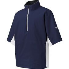 NEW Foot Joy HydroLite Short Sleeve Golf Rain Shirt Navy/White FootJoy