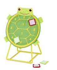 Melissa & Doug Sunny Patch Tootle Turtle Target Toss Game With 4 Self-Stick Bean