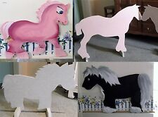 1 x HORSE blank shape Horse show jump fillers choice of 3 stable livery arena