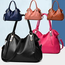 Women Fashion PU Leather Satchel Handbag Crossbody Shoulder Bag Messenger Tote