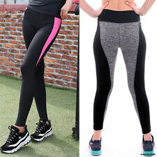 Hot Womens Sports Gym Yoga Pants Running Fitness Leggings Workout Trousers S285